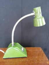 Mid-century Modern Green Desk Light Lamp Hamilton Industry Small paint spatters