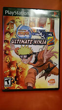 **~~Naruto * Ultimate Ninja 2 * Shonen Jump * PS2~~**