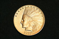 1932 $10.00 Indian Head/Eagle Gold Coin Free Priority Shipping