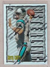 1996 Finest - Football - S12 #41 Kerry Collins - Refractor Card - Panther