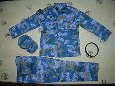 07's China PLA Navy Marines Soldier Digital Camo Combat Clothing,Set,Summer.
