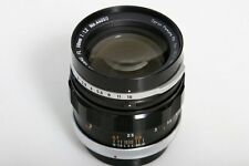 Canon FL 58mm f1.2 Prime Lens 50mm Breech Mount fits FD * manual focus * CLA'd