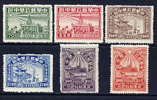 CHINA PRC Sc#6L57-62 Perf 1949 Wuhan Liberation MNH