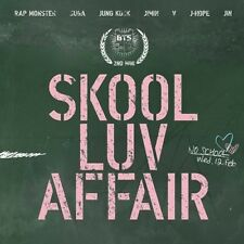 BTS-[SKOOL LUV AFFAIR] 2nd Mini Album CD+Photo Card+115p Booklet K-POP Sealed