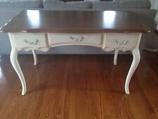 Ethan Allen Country French Desk Brittany/Bordeaux Finish Mint!