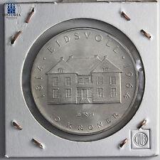 #431 Norwegen 10 Kronen Silber 1964 Silbermünze 150 Jahre Verfassung