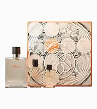 Terre D'Hermes by Hermes for Men 3 Piece Set 100 Ml Spray 12.5 Spray 40ml AS