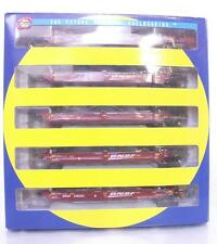 ATHEARN 95073 HO SCALE - BNSF RAILWAY ARTICULATED MAXI I WELL 5 CAR SET 238363