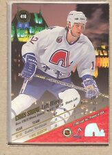 Chris Simon 416 1993-94 Leaf Set (Scan is back of card) Rookie RC
