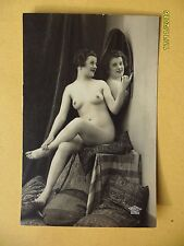 ORIGINALE francese 1910's -1920's nude risque cartolina LADY LOOK IN SPECCHIO # 147