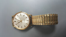 OMEGA SEAMASTER 600 VINTAGE WATCH - SWISS MADE GOLD-PLATED STAINLESS STEEL BAND