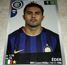 FIGURINA CALCIATORI PANINI 2016/17 INTER EDER 247 ALBUM 2017