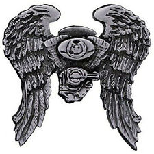 ASPHALT ANGEL BIKER PIN  NEW