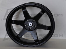 Drag Wheels DR-53 T-37 Style 19X9.5 Rear + 35 5/114.3 for Black Concave Rim