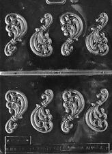 FANCY FILLIGREE PIECES mold Chocolate candy molds filligrees cake decorating