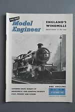 R&L Mag: Model Engineer 27 October 1955 Steam Governor/Woodruff Keys