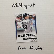 MIGUEL CABRERA #21 DETROIT TIGERS 2014/15 2015 Panini Fathers Day QTY