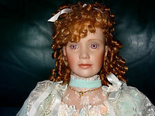 "FLORENCE JEAN 36"" PORCELAIN DOLL BY THELMA RESCH EXCELLENT CONDITION 205/1000"