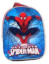 Marvel The Amazing Spider-Man Kids Boys Book-bag Backpack NWT (H11inxW8in)