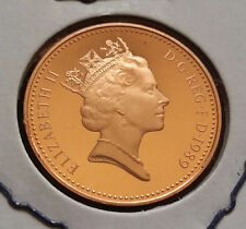 1989 GREAT BRITAIN PENNY - PROOF