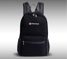 New SwissGear foldable backpack Shoulder Waterproof bag sports outdoor backpack