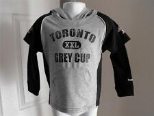 NEW-MENDED Toronto XXL Grey Cup Toddler 3T (3T) Hoodie by Reebok 57MF