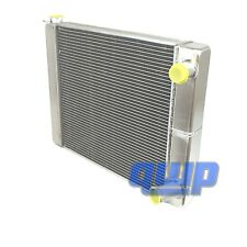 "Brand New Universal 2-Row Aluminum Radiator 31"" x 19"" Double Pass GM Style"