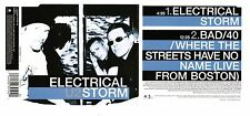 Very Rare U2 Electrical Storm Canada Live From Boston CD 1