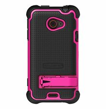Ballistic Shell Gel (SG) Series Case for HTC EVO 4G LTE - Black/Hot Pink