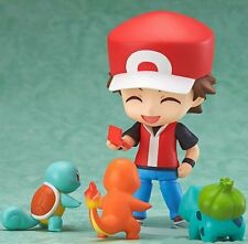 POKEMON  Ash +3 Faces + 3 Monsters and Accesories NEW Figure