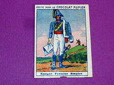 COSTUMES MILITAIRES EPOQUE 1ER EMPIRE CHROMO CHOCOLAT PUPIER JOLIES IMAGES 1930