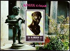 Ajman 1972 ** Bl.450 A Bronzestatuen Ancient bronze sculptures