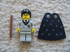 LEGO Harry Potter - Rare Harry w/ Hogwarts Torso Wand & Cape - 4708 - Excellent