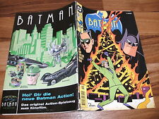 BATMAN ADVENTURES   # 19 --  DC 1996 // mit Batman & Robin-Gutschein-Karte