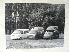 V0019) VW T4 California Coach - Presse Foto Werkfoto press photo 06.1995