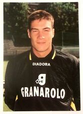 Cartolina Bologna Calcio 1997-98 Alex Brunner