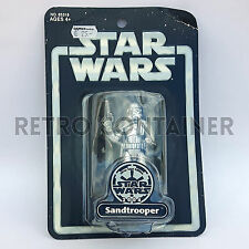 STAR WARS Kenner Hasbro Action Figure - SILVER COLLECTION - Sandtrooper (2004)