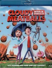 CLOUDY WITH A CHANCE OF MEATBALLS NEW BLU RAY DISC MOVIE CARTOON ANIMATED FUNNY