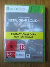 Metal Gear Solid V Ground Zeroes PROMO – Xbox 360 ~ NEW & SEALED (Full Game)