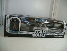 Hasbro Star Wars OTC Y-WING FIGHTER  with Y-wing pilot figure 2004