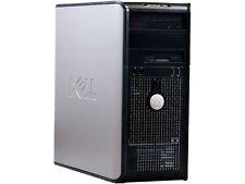 DELL Desktop Computer 760 Core 2 Duo 3.0 GHz 4 GB 250 GB HDD Windows 7 Home Prem
