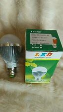 10 x 5W Dimmable ES E27 Cool White LED Light Lamp Bulb Low Energy 240V JobLot