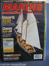 MODEL BOATS MARINE MODELLING MAY 2005 KINGARTH A232 RIVER QUEEN VALDIVIA HYDRO