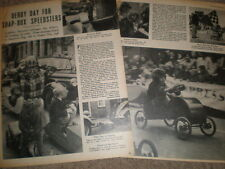 Photo article RAFA soap box derby at Leighton Buzzard 1952 ref R