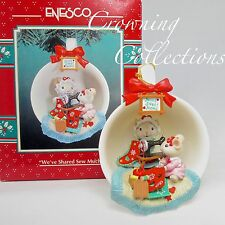 Enesco We've Shared Sew Much Cozy Cup Treasury of Christmas Ornament Mice Tea #9