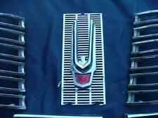 1963 Chrysler Imperial grille and emblem, nice!
