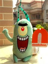 "New SpongeBob Squarepants Sheldon J. Plankton 8"" Sponge Bob Plush Toy Gift"