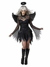 Women's fallen Angel Cosplay Dress +Wings Perform Costumes Halloween fancy dress