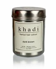Khadi Natural Herbal Dark Brown Henna Hair Color Unique Formulation 150gm