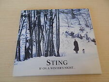 """CD STING """"IF ON A WINTER'S NIGHT"""" - 2009 UMG REC."""